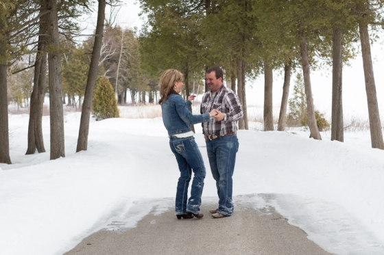 Kayla Eickmeyer Photography :: Menominee Mi Engagement Photographer